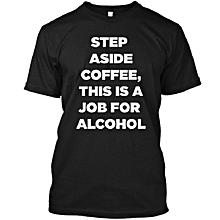 Black Coffee Aside T-shirt