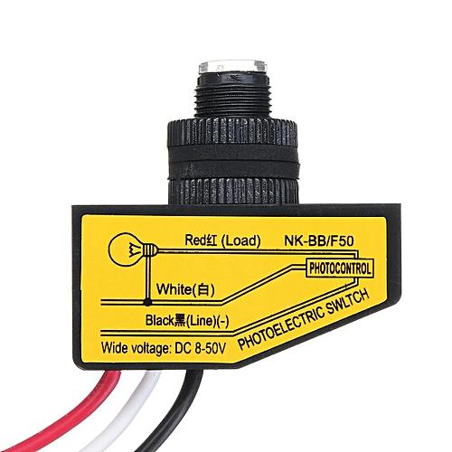 Buy Generic Dc 12v 24v 36v 48v Dusk To Dawn Photocell Automatic