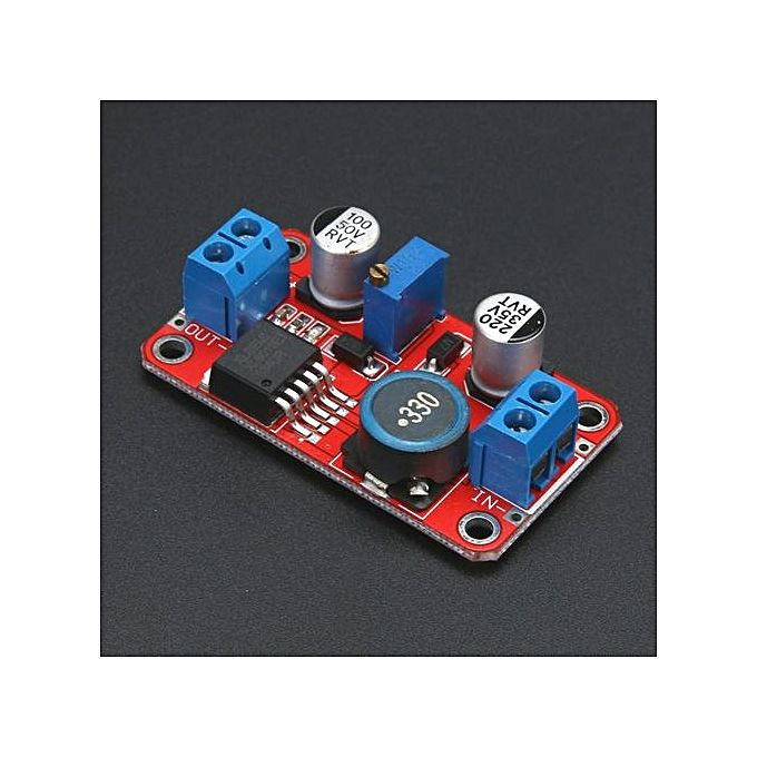 XL6019 5A MAX CURRENT DC TO DC ADJUSTABLE BOOST POWER SUPPLY BOARD MODULE INTL ✓