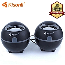 Speaker Portable desktop laptop speakers woofer multimedia bass