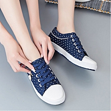 Fashioanable Polkadot Rubber Shoes for ladies