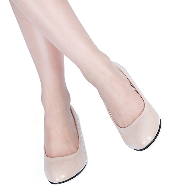 93f58c178f7 Fashion Elegant Ladies Shallow Mouth Low Heel Sandals Shoes - OFF ...