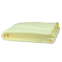 1XNew Microfiber Towel 70X140CM Absorbent Bath Towel Yellow