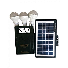 GD-Lite - 8056A Rechargeable Lighting System - Black