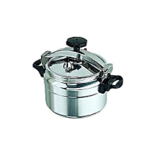 Pressure Cooker - Explosion proof - 9 Ltrs - Silver