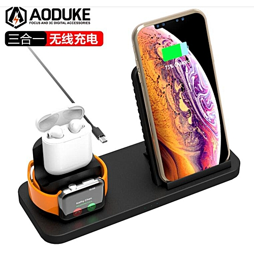 charger for apple watch iphone and airpods