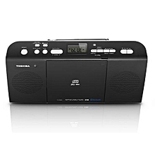 TY-CWU25  Portable CD  Radio With Bluetooth,RadioUSB- Black