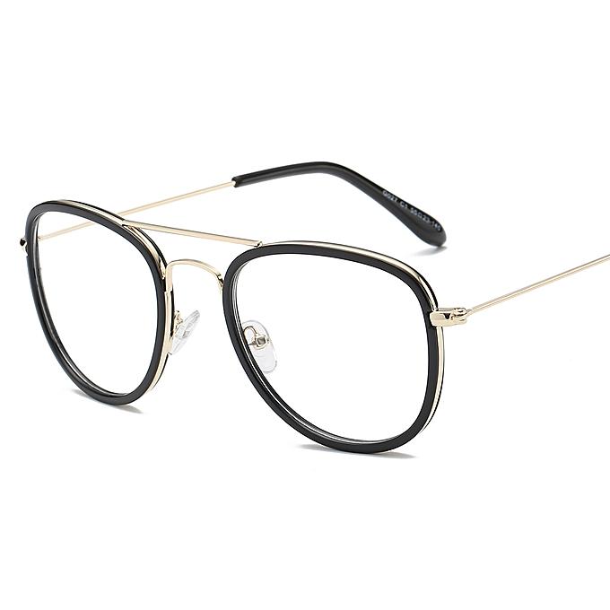 a0ba2d8858f Korean Retro Black Eyeglasses Myopic Eyewear Frame Women Men