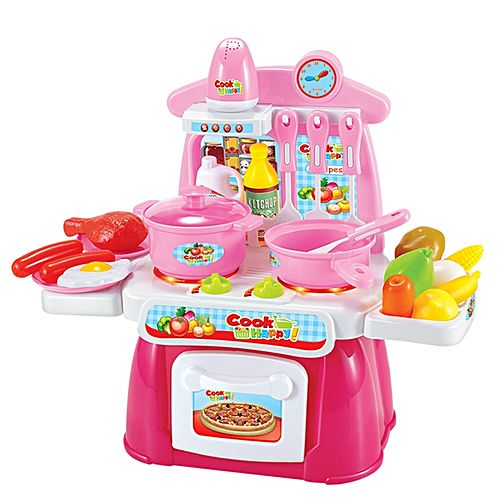creative kitchen accessories mini cooking toy set for children pink buy online jumia kenya. Black Bedroom Furniture Sets. Home Design Ideas