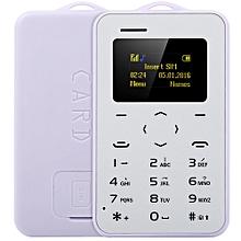 1.0 inch  C6 Card Phone Bluetooth 2.0 Calendar Alarm Calculator