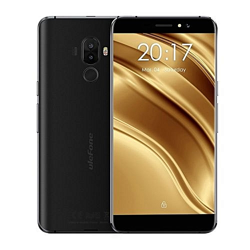 EY Ulefone S8pro 5.3 Inch Display Rear Fingerprint 2GB RAM 16GB ROM 4G Phone-black