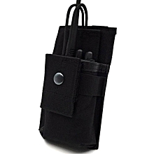 Interphone Case Walkie Talkie Bag Portable Nylon 16X9.5X3CM Military Multi Function