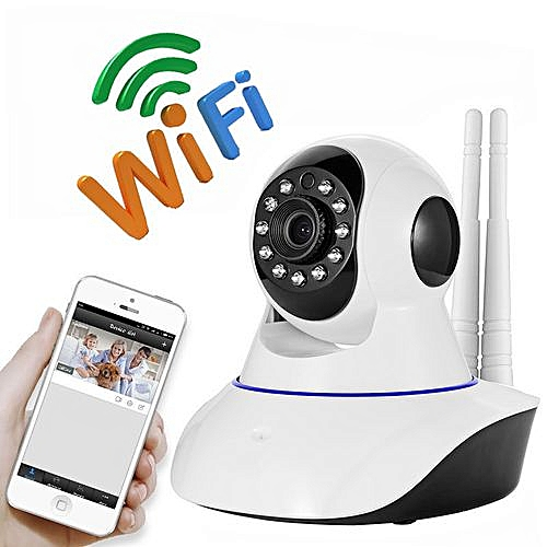 WiFi Nanny Camera Baby Monitor with Night Vision 1080P video With Remote  View