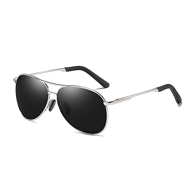 d7673e753f28 Men s new polarized sunglasses driving mirror fishing sunglasses-Silver