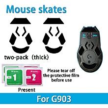 2 sets Teflon 0.6mm 3M Mouse Feet mouse Skates for Lo.gitech G903 Mouse