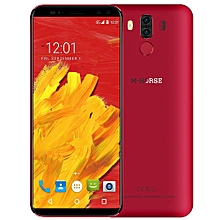 M-HORSE Pure 3 4G Phablet 5.7 inch Android 7.1 MTK6763 Octa Core 2.0GHz 4GB RAM 64GB ROM-RED-RED