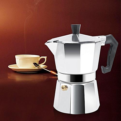 English In Italian: Universal Aluminum Italian Type Moka Pot Espresso Coffee