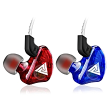 QKZ CK5 Wired HiFi Bass Stereo In ear Earphones with Microphone Line Control