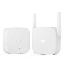Xiaomi 2.4Ghz 300Mbps Dual Antenna Wireless PowerLine Ethernet Adapter White