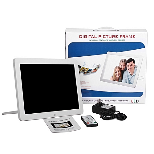 Buy Generic TA Digital Picture Frame With Wireless Remote 12 Inch ...