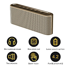 Mini Portable Bluetooth Wireless Speaker Touch Control Bass Stereo AUX USB TF