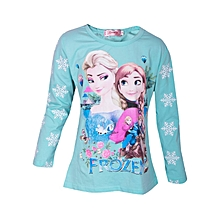 d709ef9c0bc Disney  039 s Frozen Anna  amp  Elsa the Princess Cartoon Themed T-