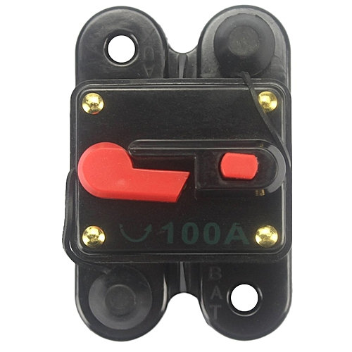 generic car audio fuse holder with switch power supply protector circuit  breaker