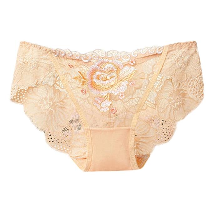 ceb5e9c995b High end Sexy Women Lace Flowers Low Waist Underwear Panties G-string  Lingerie Thongs ...
