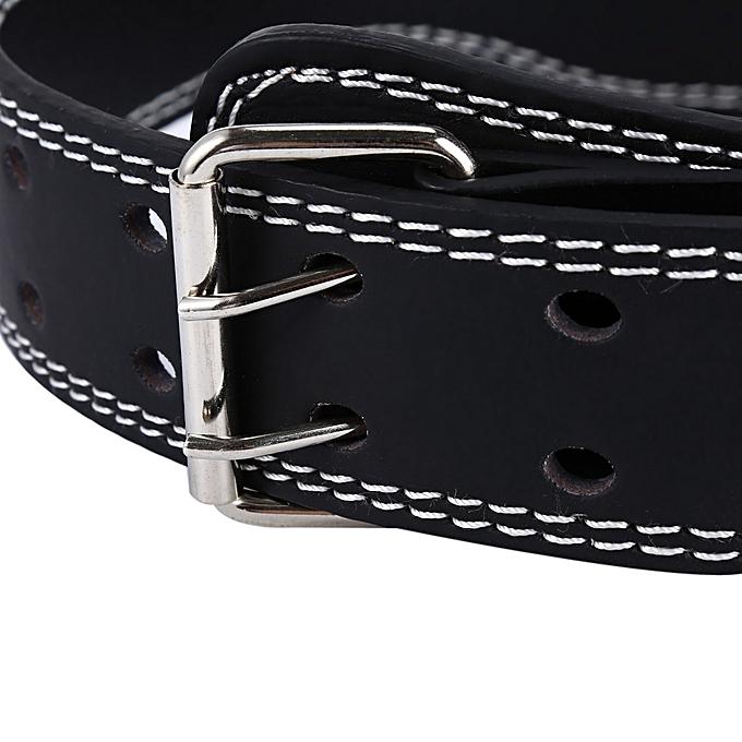 Universal pu weight lifting belt for gravity training