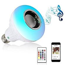 E27/E26 Smart Wireless Bluetooth Speaker Music Playing Colorful LED Bulb AC 100 - 240V