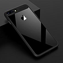 Apple iPhone 7Plus /8 Plus   Autofocus Series TPU Ultra Slim Clear Case Premium Hybrid Protective Case (Black)