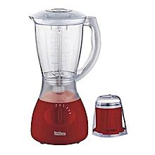Blender with Grinder - 1.5 Litres - Red