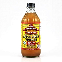Organic Raw Unfiltered Apple Cider Vinegar with 'the mother' - 473ML