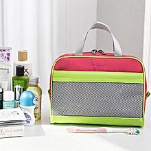 Travel cosmetic bag portable simple large capacity cosmetic storage bag girl heart portable wash bag