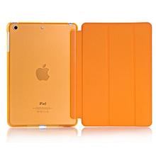 Ultra Slim Smart Cover PU Leather Case for Apple iPad Mini 4 (Orange) Mll-S