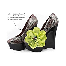 ZIZI Asymmetrical Flower Clip - Multi Purpose Jewellery - Citrine