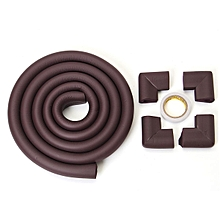 Baby Safety 2M Edge + 4 Corner Bumper Protection Cover Protector Table Cushion
