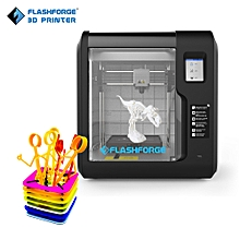 FlashForge Adventurer 3 Desktop 3D Printer Fully Enclosed with Touch Screen Support Cloud Wi-Fi Build Volume 150*150*150mm for Home & School Use