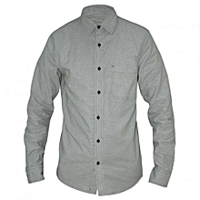 Mint Green Long Sleeved Men's Shirts