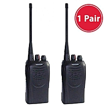 Kenwood TK3107 TK-3107 3107 Handheld 2 Ways Walkie Talkie 16 Channels 450MHz - 470MH Radio (1 Pair) WWD