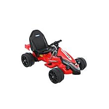 Red Racer Battery-Powered Go-Kart