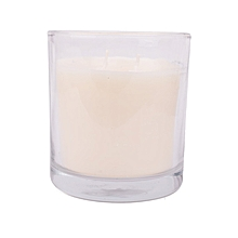 White scented candle