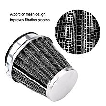 Motorcycle Air Filter Air Intake Filter Cleaner Universal for Honda Kawasaki Yamaha (48mm/1.9in)