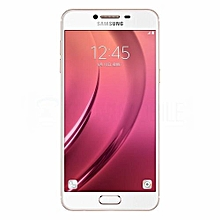 """Galaxy C8 - 5.5"""" - 32GB - 3GB RAM - 13+5MP Camera - (Dual Sim) - 4G - Gold"""