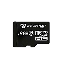 Micro SD Card - 16GB Standard with Adaptor - Black