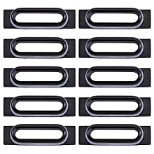 10 PCS for iPhone 7 Charging Port Retaining Brackets(Black)
