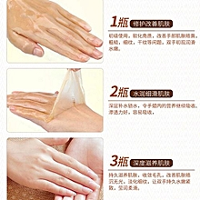 Technologg Beauty  AFY Milk Honey Moisturizing Hand Wax  Exfoliating Dead Skin Cream-As Show