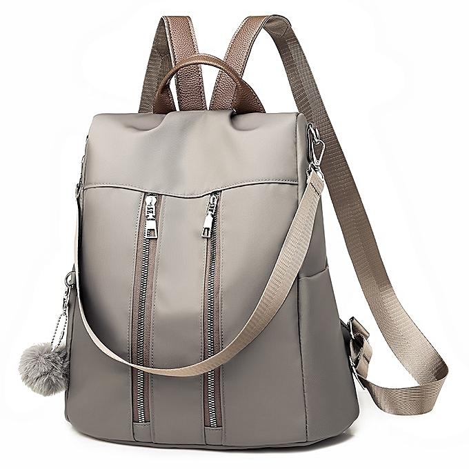 8f9150e00d50 ... Fashion Oxford Cloth Ladies Backpack Casual Handbag Crossbody Single-shoulder  Bag with Plush Ball ...