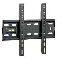 22 inches to 42 inches Strong Fixed Wall Mount Bracket. Can Handle 40Kgs - Black.