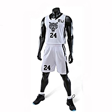 Best Sale Customized Casual Men's Basketball Team Sport Jersey Uniform-White(3035)